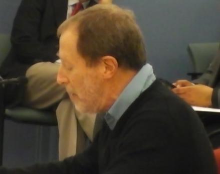 Coleman Poses SRC testimony