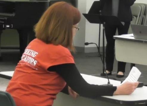 Eileen Duffey SRC testimony pic May 25, 2017
