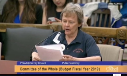 Barbara Dowdall City Council 5-16-18